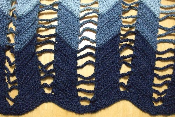 Jacob S Ladder Ripple Afghan Afghans Crocheted My