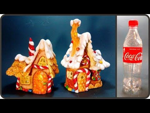 ❣DIY Christmas Fairy House Lamp Using Plastic Bottle
