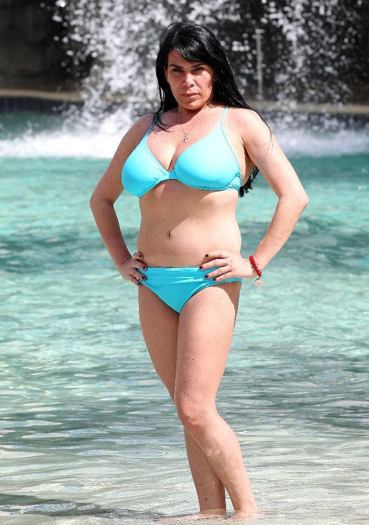 PHOTOS - Mob Wives' Renee Graziano Shows Off Her Bikini Body