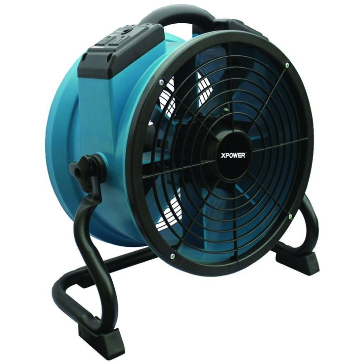 Xpower X-34tr Professional Axial Fan With Timer