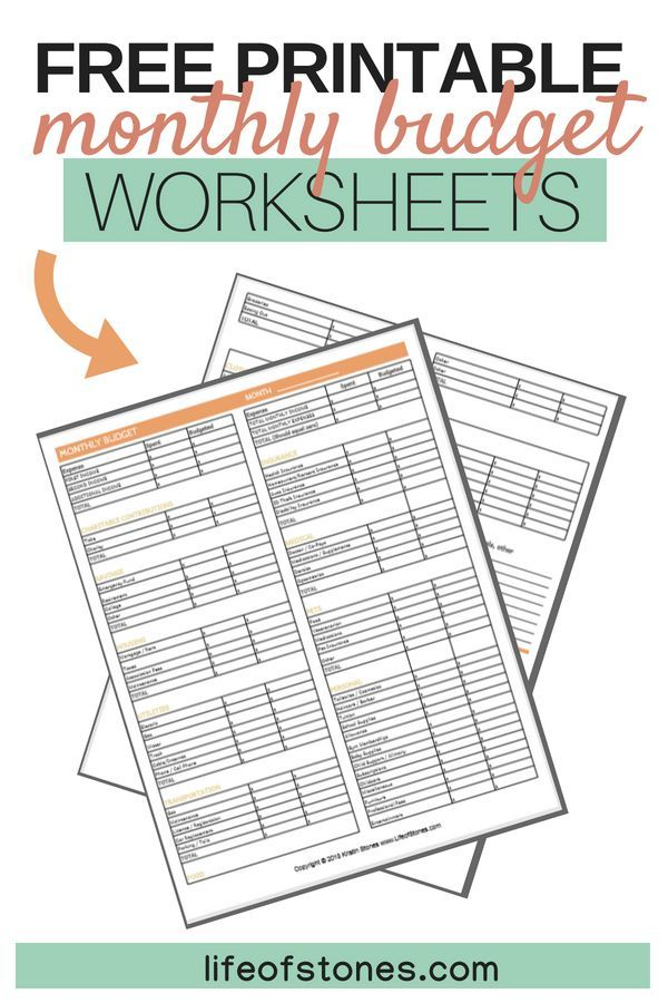How to easily create a monthly budget that you can stick to Money - free download budget spreadsheet