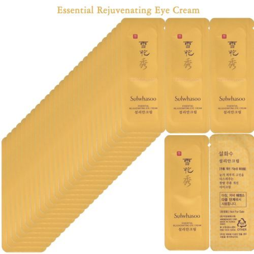 Sulwhasoo Rejuvenating Eye Cream Amore Pacific Korean Cosmetics Sample 60pcs ★ ☆