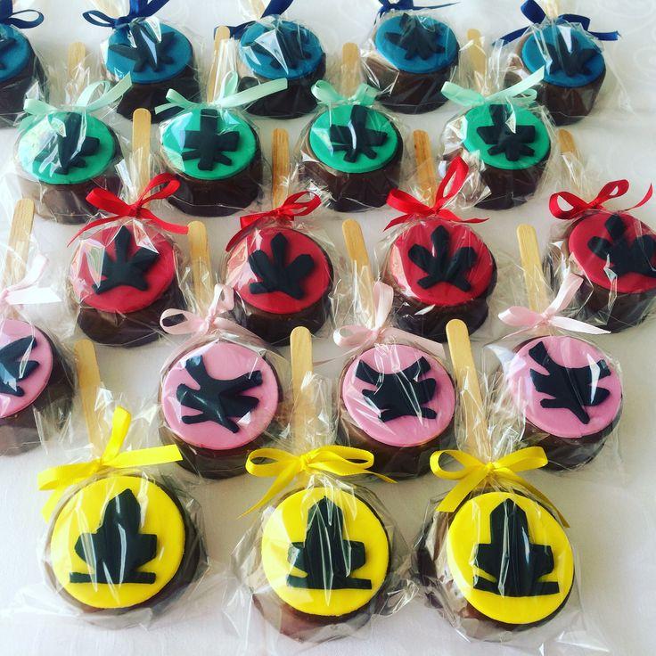 Pães de Mel Power Rangers Sanurai