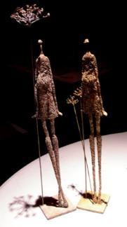 Mujer de anís I y II. www.santacruzcasanova.com