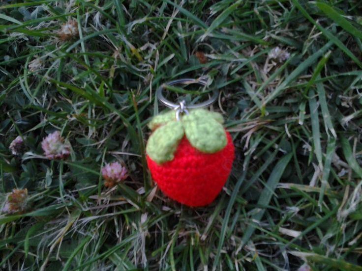 Frutilla llavero