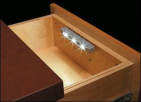 Switchless Drawer Light - Woodworking