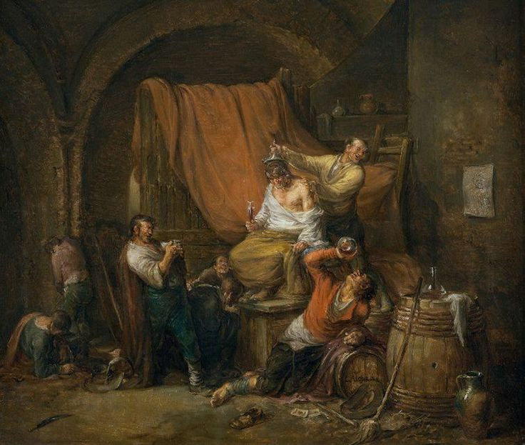 """""""Leonardo Alenza – El triunfo de Baco (1844)"""