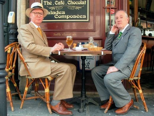 Artists Gilbert and George