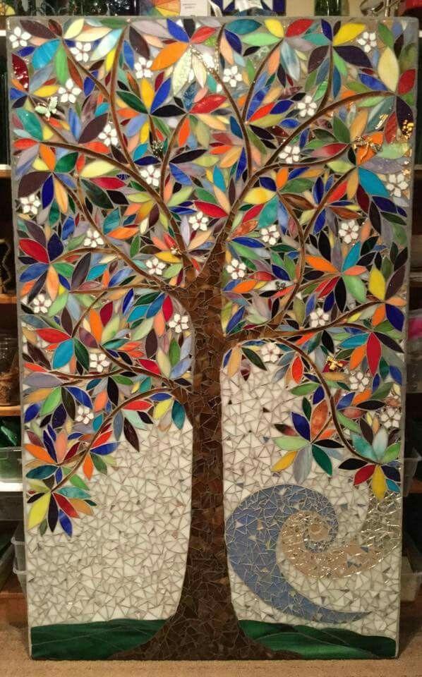Mosaic art. Jane Aronhart