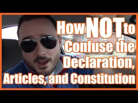 "The Declaration of Independence (The Weeknd's ""Can't Feel My Face"" Parody) - YouTube"