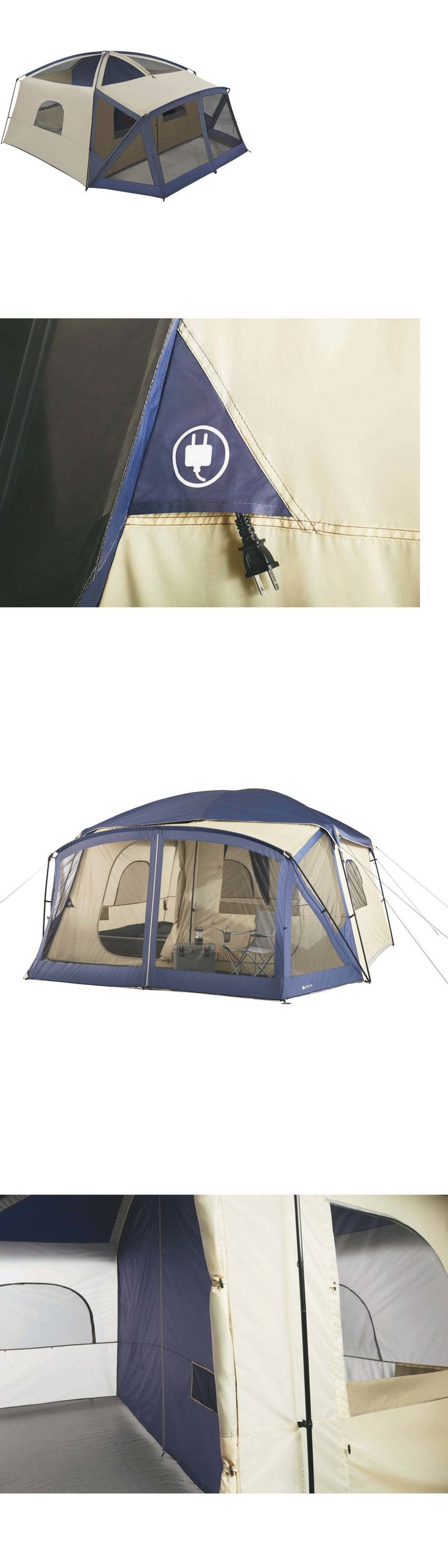 Tents 179010: 12 Person Cabin Tent Camping Family Outdoor Instant Tents Trail 2 Room New -> BUY IT NOW ONLY: $193.15 on eBay!