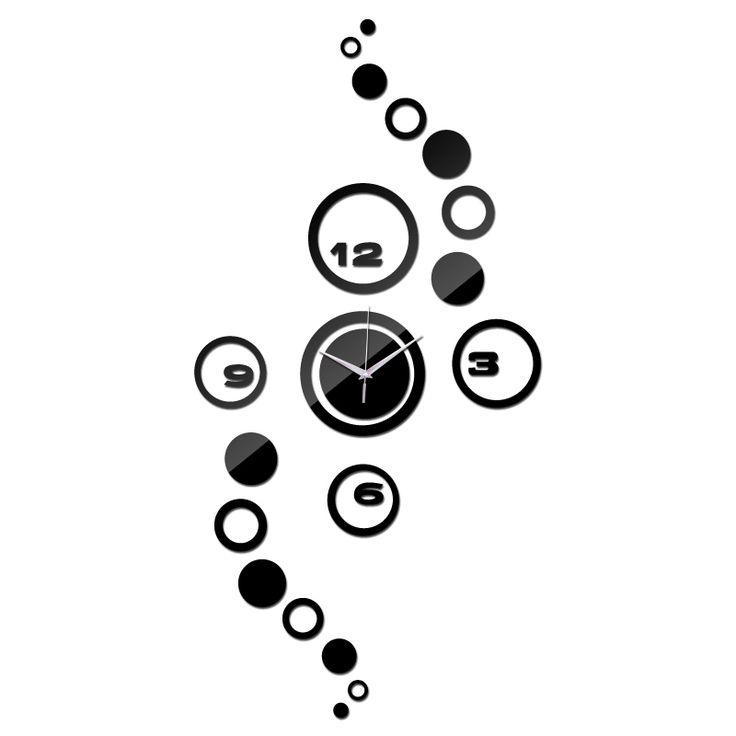 2015 frete grátis venda quente sala de estar sala de quartzo agulha separa 3d relógio de parede relógios diy relógio digital presente engraçado alishoppbrasil