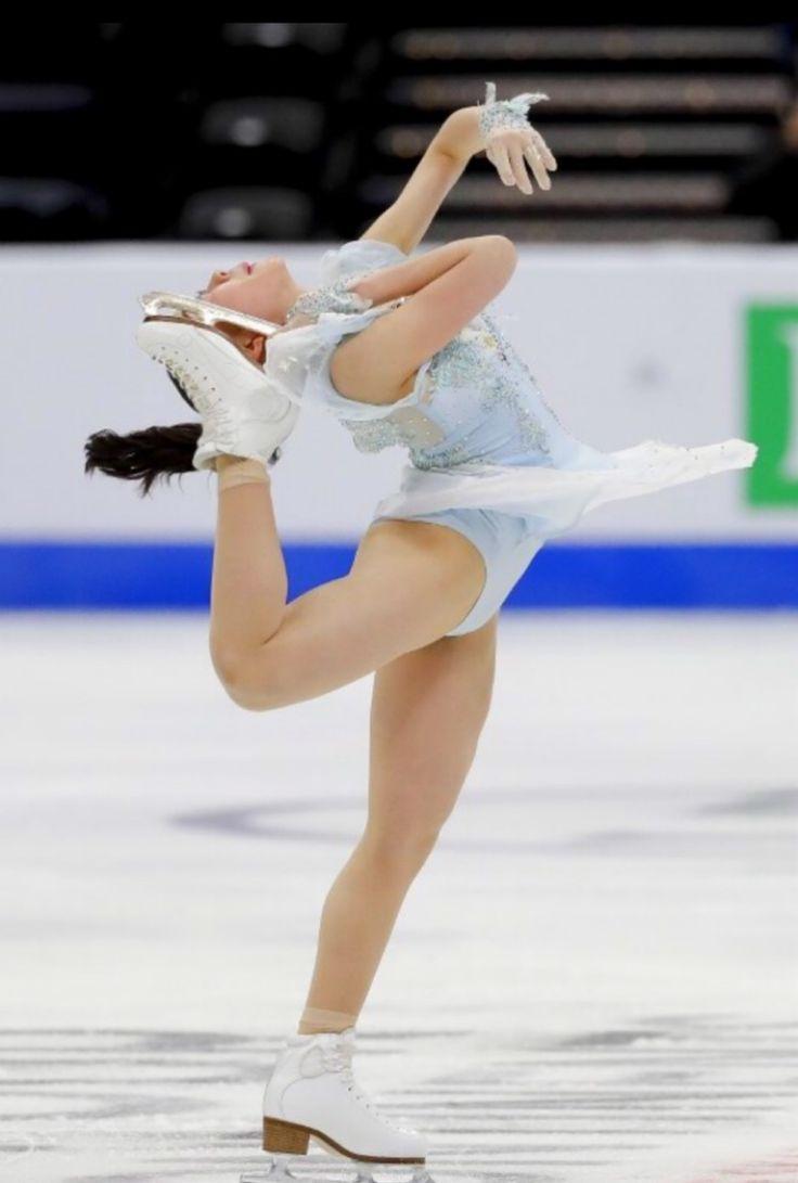 Rika Kihira 紀平梨花⛸ | フィギュアスケート、女性アスリート、フィギュアスケート 女子