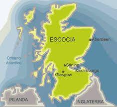 Resultado de imagem para escócia mapa mundi
