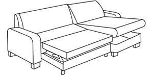 Ecksofas mit Schlaffunktion sind sehr praktisch und günstig im Sofadepot. Toll ist auch ein Bettkasten zum Ecksofa mit Schlaffunktion.