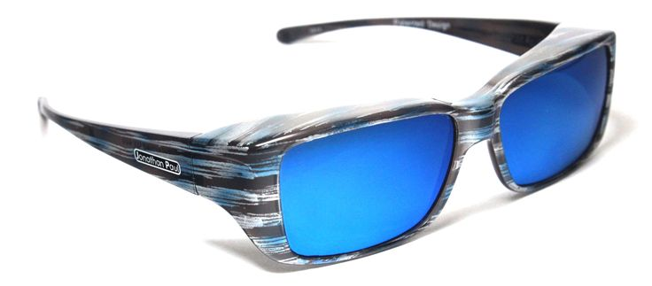 Too cool to be fit over sunglasses? Nope! Jonathan Paul® Fitovers Eyewear is the new go-to for COOL FITOVERS. Check out the Nowie™ Brushed Steel (Blue Mirror)