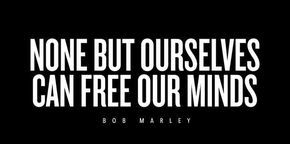 When you're feeling overwhelmed, look to Bob Marley's lyrics to bring peace into your life.