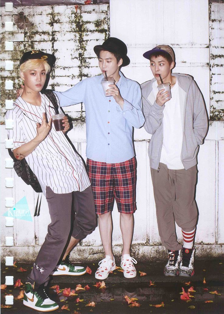 EXO Kai, Suho & Xiumin