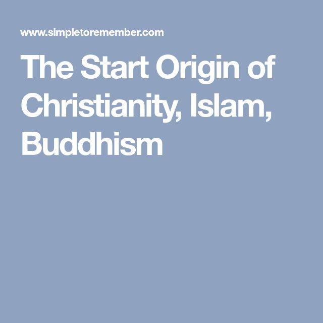 The Start Origin of Christianity, Islam, Buddhism