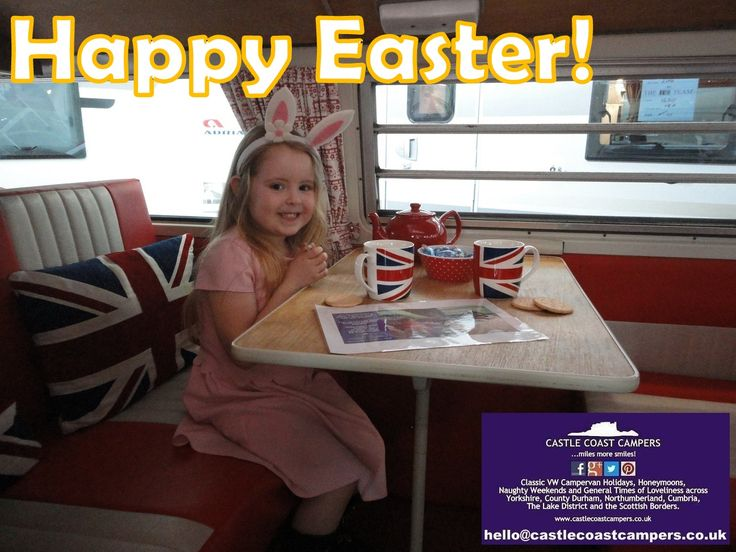 No we have not gone mad! Its you lot!!!  We took another booking for #Easter 2017 yesterday! The early bird catches the worm! Plan your fab Easter break today and make sure you get the dates you want.  Book now and get Easter 2017 at the Easter 2016 price!  Book NOW!  #family #children #kids #holiday #Campervan #vintage #VW #escape #freedom #Yorkshire #Camper #Glamping #North #York #Harrogate #shortbreak #holidays #weekend #Northumberland #weekendaway #fun #hire #Whitby #LakeDistrict