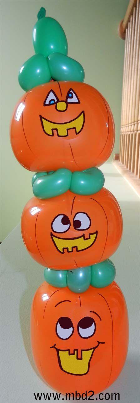 halloween balloon decoration ideas - Google Search