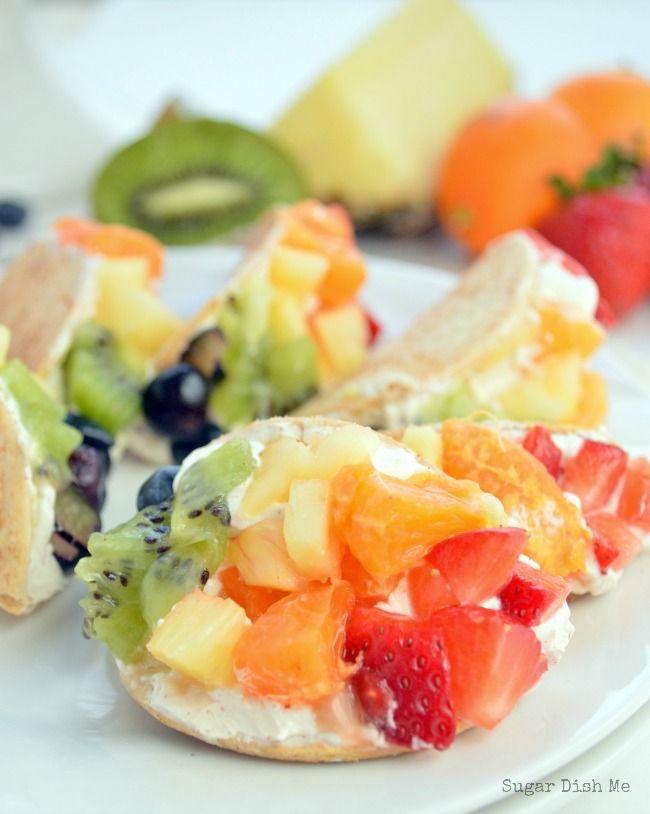32. Mini Fruit Tacos #healthy #taco #recipes http://greatist.com/eat/healthy-taco-recipes