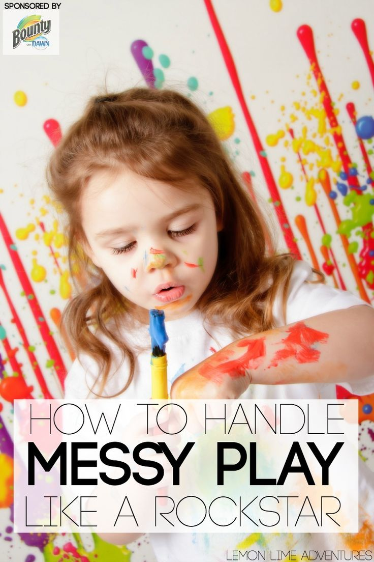 How to handle messy play like a rockstar   Tips from set up, creation and ideas, to clean up tips #spon #quickerpickerupper