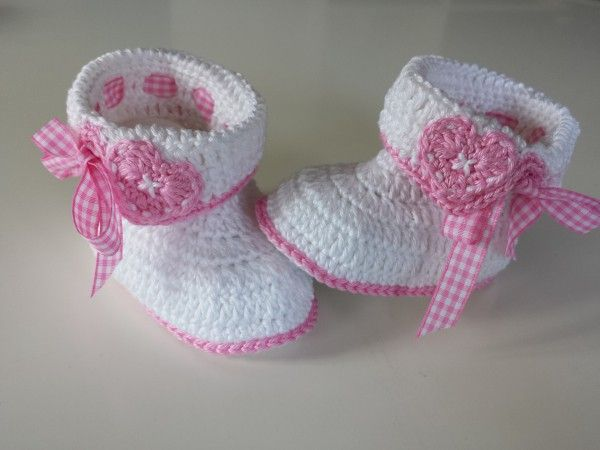 1387 best babyschuhe images on Pinterest | Baby shoes, Crochet baby ...