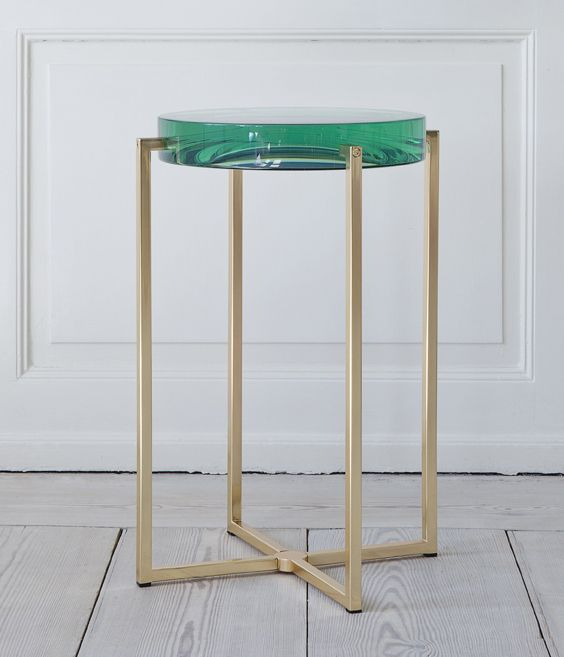 Emerald Side Table : The Apartment