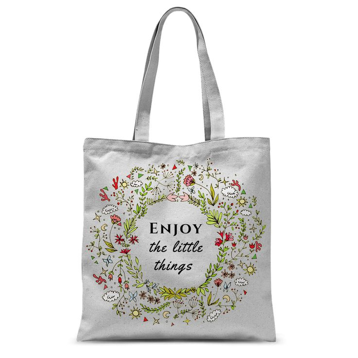 Enjoy Little Things Bag https://blooom-store.myshopify.com/products/tote-bag