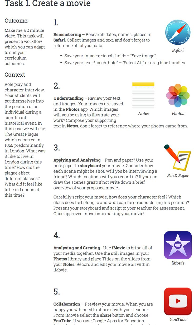 Five iPad Learning Tasks You Should Be Able to Do with Your Students ~ Educational Technology and Mobile Learning