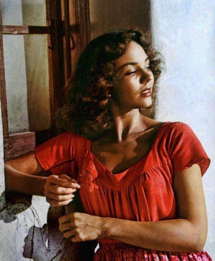 """Jennifer Jones en """"Duelo al Sol"""", 1946"""