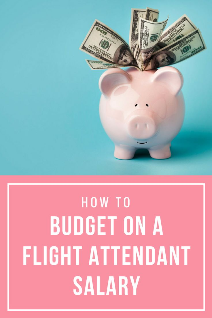 4 Tips to survive on the first-year Flight Attendant Salary!