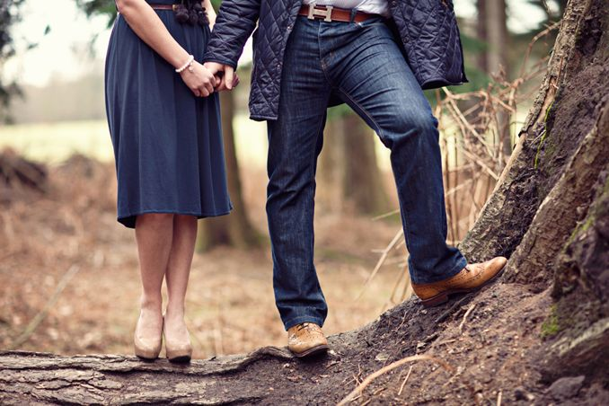 forest engagement shoot by STUDIO 1208