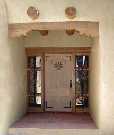 Adobe Home in New Mexico - with the southwestern look we all love!