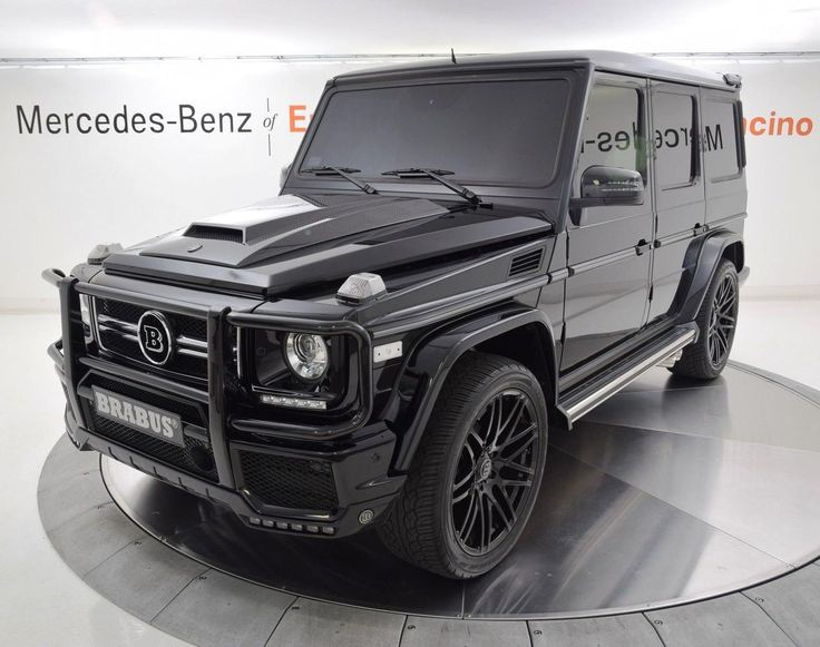 Mercedes Benz G Class G550 Brabus 4matic 2015 Suv Luxury