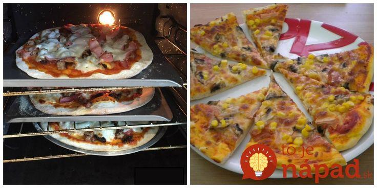 Podľa mňa je tento recept úplne najlepší – pizza je vždy výborná, recept som už rozdala všetkým známym a rada sa podelím aj s vami. :-)