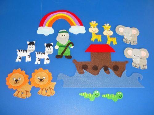 Noah's Ark Bible / Church Sunday School Felt Flannel Board Story