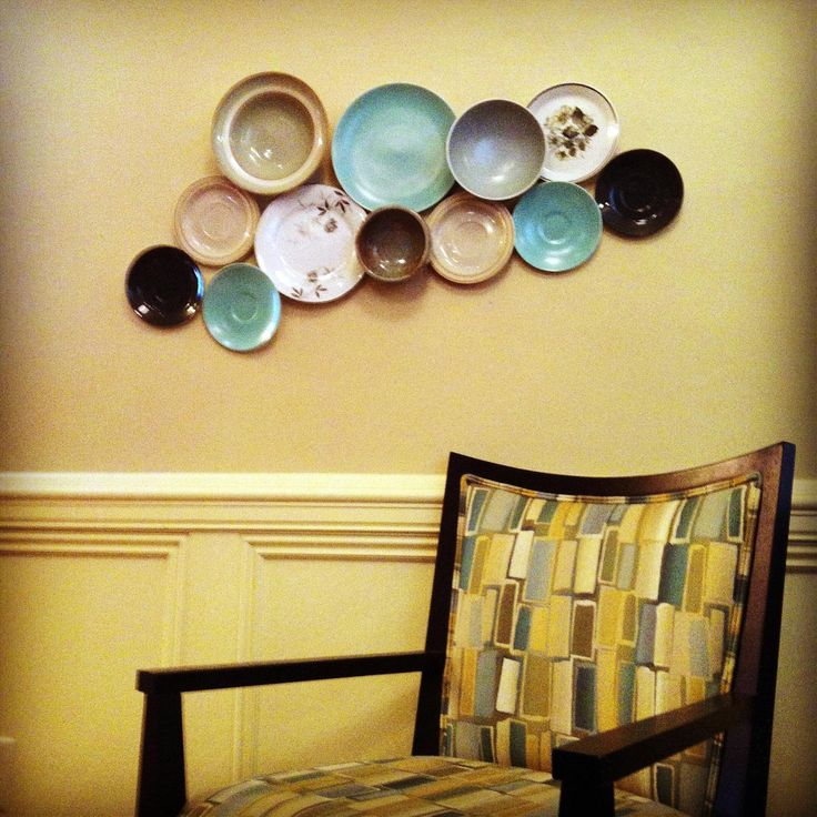 Enchanting Decorative Plates On Wall Composition - Wall Art ...