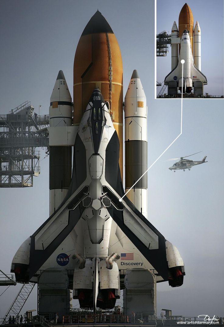 NASA Spaceship design, Darko Markovic dar-mar on ArtStation at https://www.artstation.com/artwork/951RR