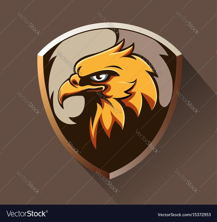 Vector abstract, Eagle head as an emblem. Download a Free Preview or High Quality Adobe Illustrator Ai, EPS, PDF and High Resolution JPEG versions.