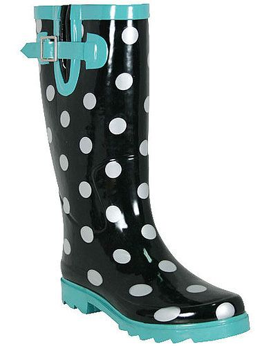 1000  ideas about Polka Dot Rain Boots on Pinterest | Rain boots
