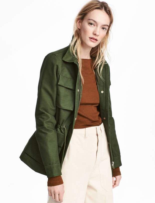 Veste de mi-saison   30 nouveautés des collections printemps été 2018 à shopper  dès maintenant   Fashion   Pinterest   Fashion 6944437fc9f8