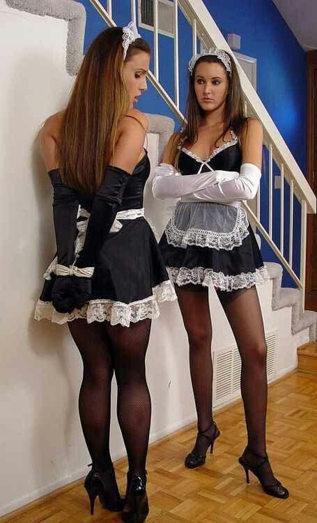 Transvestite forced feminization french maid