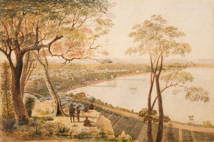 George Nash - An extensive view of Perth c1846.