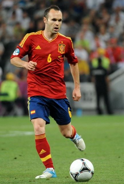 09. Andres Iniesta (Spain, Barcelona) Top 10 Best Soccer Players in the World 2015 :- http://www.sportyghost.com/top-10-best-soccer-players-world-2015/ #soccer #football