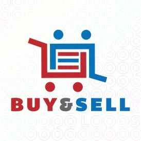 Exclusive Customizable People Shopping Cart  Logo For Sale: Buy & Sell | StockLogos.com