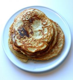 This is one of the all-time greatest pancake recipes - why? Because it is a healthy variation og a classic pancake and even a much more delicious...