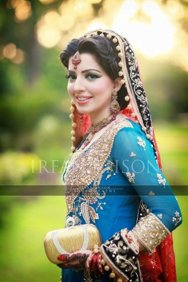 Pakistani Bride - Mariam Khawaja Bridal Makeup Ideas 2014-15 | New Makeup Ideas For Modern Brides