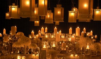 candles, candles, everywhere